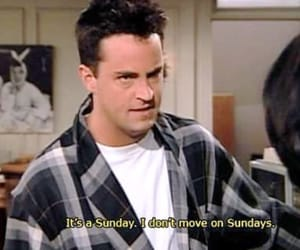 friends, Sunday, and chandler image