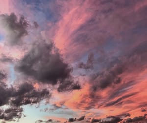 clouds, skyporn, and colorful image