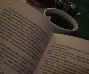 Atticus Finch, reading, and tea image
