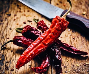 chilli, food, and ingredients image