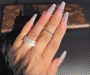 nails, inspiration, and Louis Vuitton image