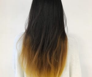 color, yellow, and hair image