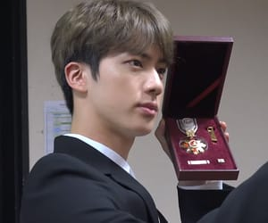 handsome, jin, and bts image