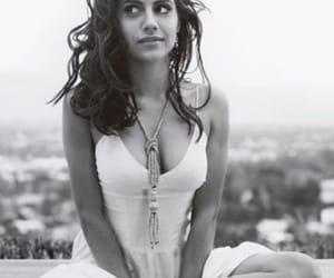 actress, beautiful, and black & white image