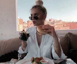 chic, fashion, and food image