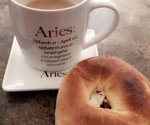 aries, bagel, and breakfast image