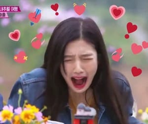 reaction, red velvet, and hearts image