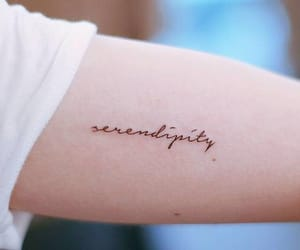 serendipity, aesthetic, and tattoo image