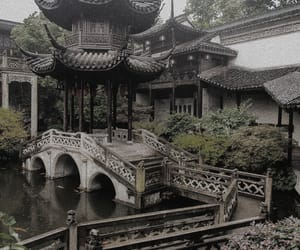 aesthetic, china, and green image