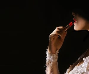 lipstick, make up, and photography image