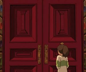 aesthetic, anime, and doors image
