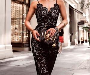 black, goals, and fashion image