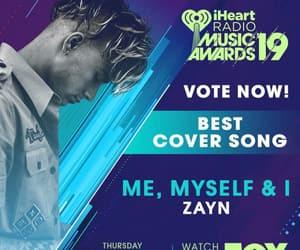 awards, me myself and i, and i heart radio image