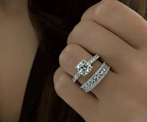 couple, cute, and diamonds image