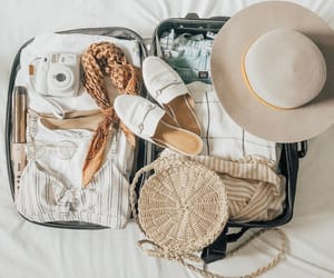 baggage, beauty, and fashion image