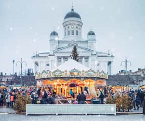 christmas, church, and finland image