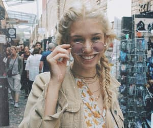 accesories, blonde, and bohemian image