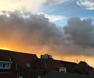 clouds, indie, and colours image