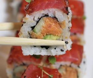 food, sushi, and cravings image