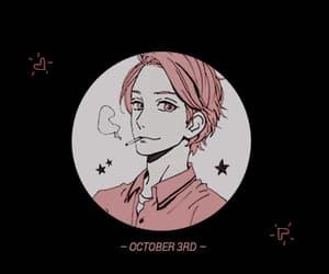 gif, manga boy, and hirunaka no ryuusei image