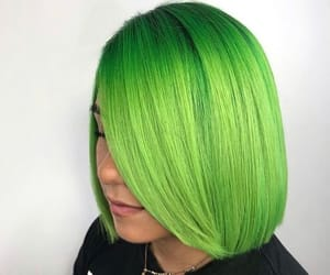 coloredhair, neonhair, and lunartides image