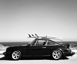car, road, and sea image