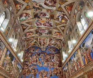 photography, art, and sistine chapel image