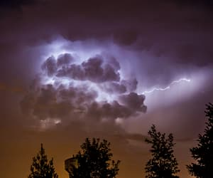 gif, nature, and storm image
