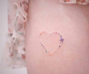 tattoo, art, and girl image