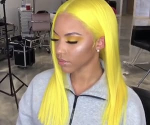 hair, weave, and hairstyle image