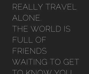 alone, black, and quote image