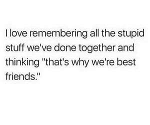 best friend, quotes, and bestie image