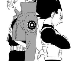 dragon ball, manga, and trunks image