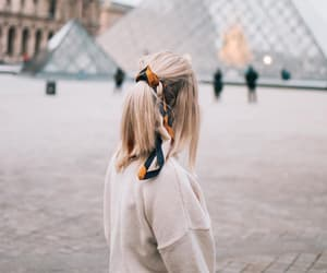 blonde, fashion, and france image