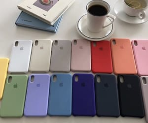 apple, case, and colors image