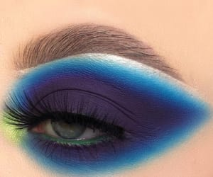blue, cosmetics, and explore image
