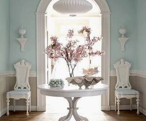 decoracion, flowers, and interior image