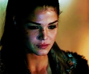gif, marie avgeropoulos, and the hundred image