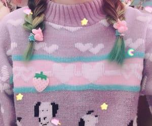 fancy, kawaii, and sweater image