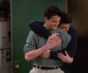 friends, chandler bing, and Joey image