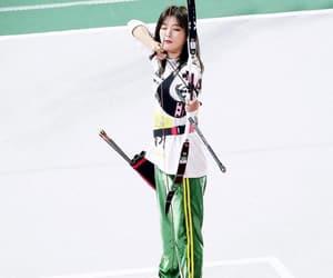 kpop, archery, and red velvet image