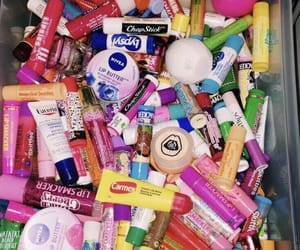 aesthetic, lip balm, and cute image