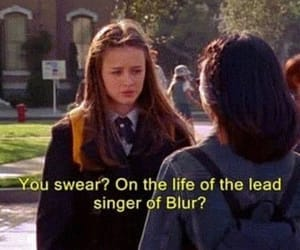 blur, damon albarn, and gilmore girls image