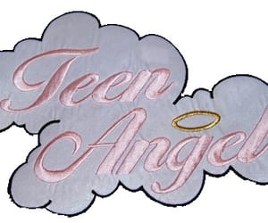 angel, overlay, and pink image