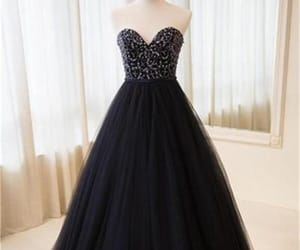 prom dresses, prom dresses ball gown, and navy blue prom dresses image