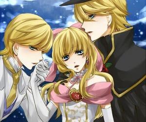 anime, fanart, and harem image