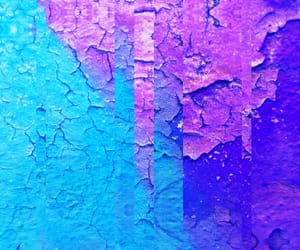 abstract, blue, and glitch image