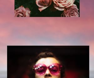 background, flores, and harrystyles image