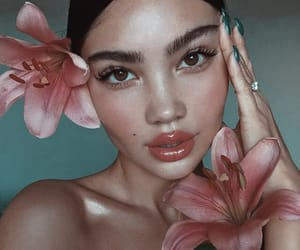 flowers, photography, and pretty girls image