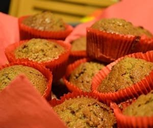 healthy muffins, what is wheat bran, and wheat bran image